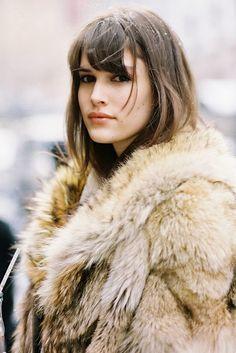 New York Fashion Week AW 2015....Vanessa