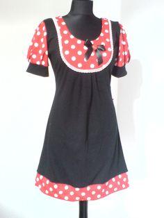 "Retro ""Dots Dress"" Punkte Kleid von EMS ART Factory  auf DaWanda.com"