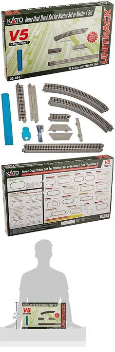 Train Sets 113519: Kato Usa Model Train Products V5 Unitrack Inside Loop Track Set -> BUY IT NOW ONLY: $47.48 on eBay!