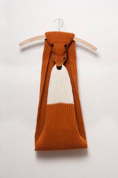 Love!! red fox scarf by Ninafuehrer on Etsy