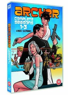 Archer - Season 1-3 If you think James Bond is politically incorrect and gives spies a bad name, you probably haven't watched Archer. Sterling Archer is a suave, egotistical and highly accomplished secret agent. He is also extremely dangerous because he is into espionage for the thrills and the jet-setting lifestyle. The outrageous story arcs follow Archer and his spy agency colleagues, including his mother (who happens to be his boss), and his ex-girlfriend (who happens to be a fellow…