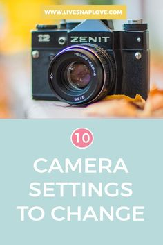 Have you recently bagged yourself a new DSLR? Here are 10 camera settings that you should look to change or check before you start shooting!