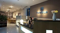 Hotel Blue Bratislava Bratislava Hotel Blue offers modern accommodation situated only steps away from the Polus City Center shopping centre and within 3.5 km from the city's historical centre, which can be easily reached by tram.