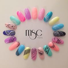 #design #naildesign #semilac #alysique #mscails #nailart #nailartist
