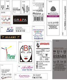 wszywki odzieżowe,etykiety,nalepki,poligrafia