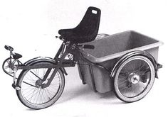 Cool German concept cargo trike