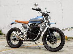 Yamaha Scorpio 225 Scrambler By TheKatrosGarage #scrambler
