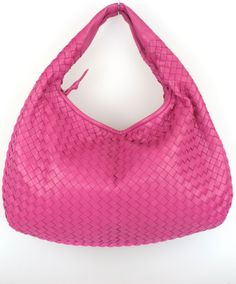 Bottega Veneta Intrecciato Fuchsia Medium Napa Hobo Bag Review Buy Now