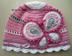 413 mejores imágenes de Gorros a Crochet 1dd12f4d8fe