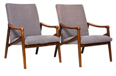 Pair of Midcentury Armchairs, Scandinavian c.1950