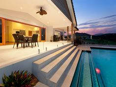 Modern Australian home on acerage with amazing infinity pool overlooking a valley!