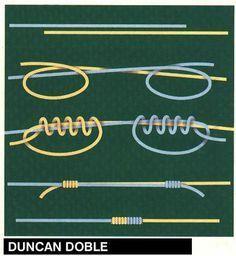 Doble duncan Nudo corredizo // Knots Más
