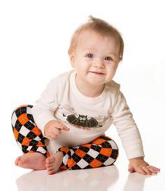 Tangerine Orange /& White Polka Dot Orange Baby Girl or boy juDanzy