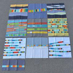 Omaha Modern Quilt Guild: QuiltCon quilt blocks