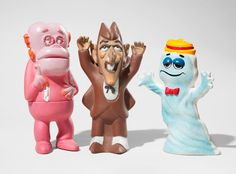 Vintage Cereal Premiums (Frankenberry, Count Chocula, Boo Berry) by General Mills on Paddle8. Paddle8 is a marketplace for collectors, presenting auctions of extraordinary art and objects.
