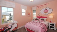cupcake kids bedroom