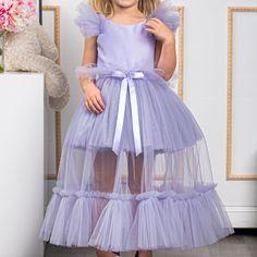 Little Girl Outfits, Little Girl Dresses, Kids Outfits, Girls Dresses, Baby Girl Party Dresses, Toddler Girl Dresses, Birthday Dresses, Tulle Skirt Dress, Atelier