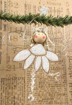 Ink,Paint, Beads: Craft Stamper Blog Challenge: Christmas Fairy!