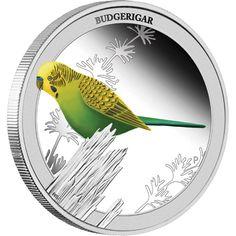 2Birds of Australia – Budgerigar 2013 1/2oz Silver Proof Coin