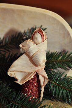 Csutkás angyal és Mária, Dekoráció, Karácsonyi, adventi apróságok, Karácsonyfadísz, Karácsonyi dekoráció, Meska