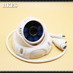 HKES Full HD 1080P Indoor Dome IP Camera Audio Surveillance Camera IP ONVIF
