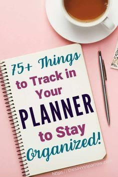 Things to Keep Track of In Your Planner - Planner Ideas! Have you jumped on the cute planner bandwagon? Put your new planner to use with this huge list of over 40 things to keep track of in your planner! How To Use Planner, Cute Planner, Planner Layout, Planner Pages, Weekly Planner, Blog Planner, Happy Planner, 2015 Planner, Organized Planner