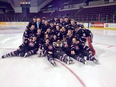 SCSU Huskies win the Penrose Cup! My college > yours