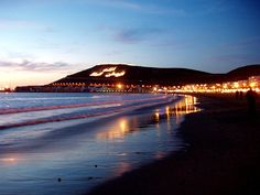 Agadir, Morocco walked along here many times in the evening ,beautiful