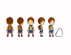 Boy Turnaround by marcyay on deviantART