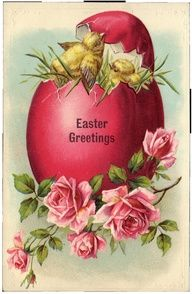 Vintage Easter post card
