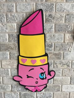 Shopkins Wall Decoration Birthday Party Decoration by xTinyLoopx