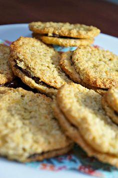 Havreflarn au chocolat - biscuits Ikea aux flocons d'avoine - voir FB de Marmiton pour la vidéo