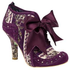 Love this 'Irregular Choice' Brand, some look strange that I would avoid but others like this one I could definitely wear!