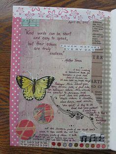 Kind Words by Kathy Paper Pumpkin, via Flickr