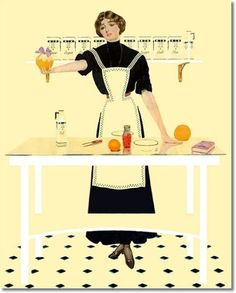 Coles Phillips - Good Housekeeping Cover June 1914 by Coles Philips ...