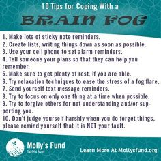 Brain Fog has been one of the hardest things to deal with and for years I thought I suffered from ADD.