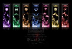 The Seven Deadly Sins by RosinAngel on DeviantArt Fantasy Women, Fantasy Art, Amy Brown Fairies, Castle Crafts, 7 Sins, Element Symbols, Banner Background Images, Event Themes, Unusual Art