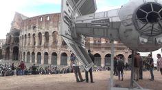 Star Wars Day a Roma Colosseo - Caccia Imperiale Film Guerre Stellari