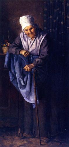 Julian Alden Weir (1852-1919) - The Oldest Inhabitant