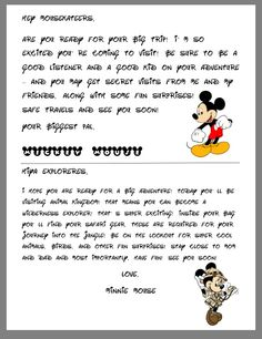 disney characters disney magic disneyland minnie forward letters from