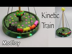 DIY Kinetic train - Polymer clay tutorial - YouTube