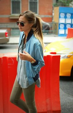 ...And I love this style.. I wanna do my hair ombre but afraid it'll b out of style soon