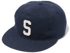 Classic S Strapback Cap by SANTASTIC! x EBBETS FIELD FLANNELS