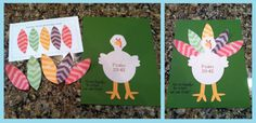 Thanksgiving Turkey Game and Preschool Lesson Plan