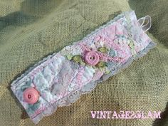 vintage fabric cuff by VINTAGE2GLAM on Etsy, $35.00
