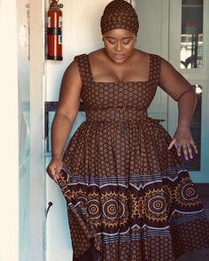 Seshweshwe Dresses, Summer Dresses, African Fashion Dresses, African Dress, South African Traditional Dresses, Outfit Goals, Traditional Wedding, Something To Do, Womens Fashion