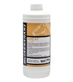 """Part of the """"Winners Circle"""" line of products, McTarnahans Sweat is a highly effective formula recommended for sweating and reducing enlarged joints, swelling, inflammation and muscle soreness due to overexertion and fatigue. Contains 2.5% iodine."""
