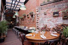 Gorski and Jones - green room // Smith St #Collingwood #Melbourne #dining #bar