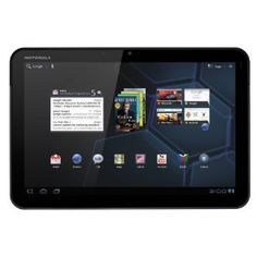 "10.1"" Motorola Xoom Tablet 32GB w/WiFi + 5MP Webcam  Android 3.0 Honeycomb OS   1 GHz dual-core processor"