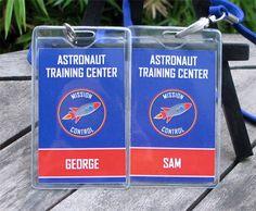 Astronaut Training Pass